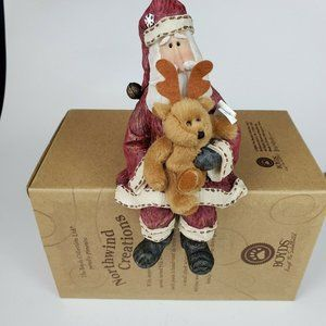 Boyds Bears Northwind Creations Time To Fly Santa